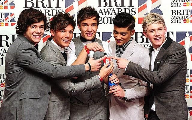 One direction won Brit Award