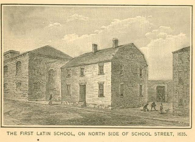Latin Grammar Schools Established