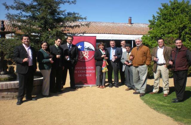 Los Concierges Chilenos, Carlos Oyarce (San Francisco Kempinsky) y Naomi Uehara(Sheraton Santiago) participaron de un Congreso Internacional en Nueva York.