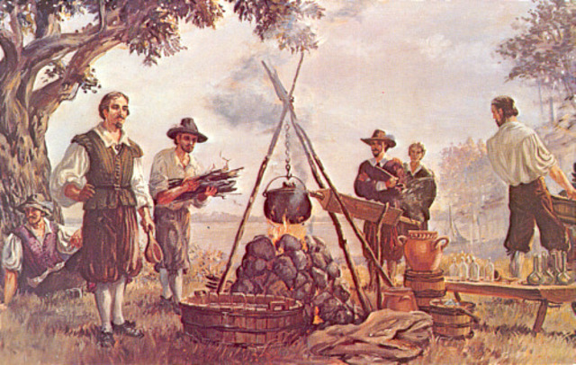 First Colony at America