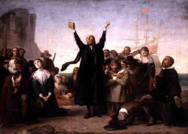 us history timeline timelines arrival of pilgrims