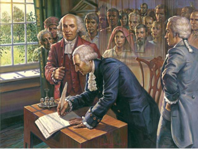 US constitution Signed!