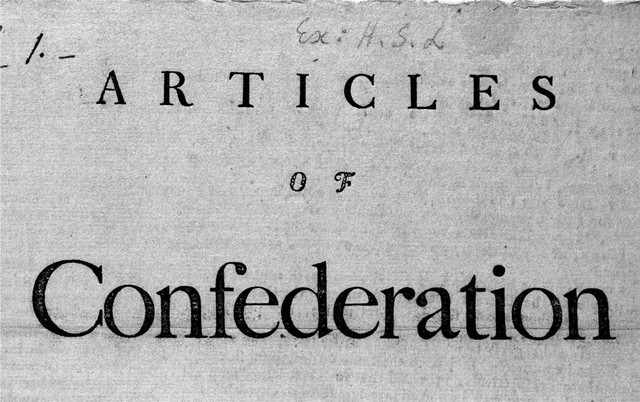 Written Article of Confederation