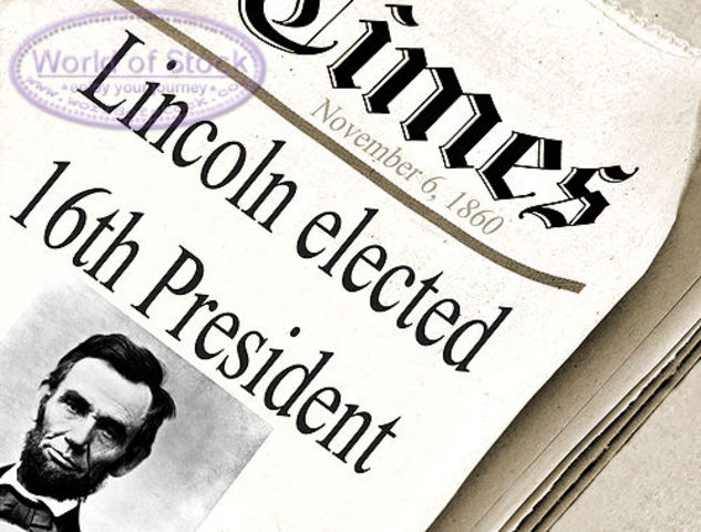 Lincoln was elected