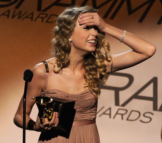 Taylor's first award