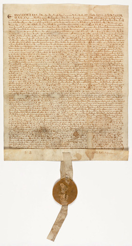 Magna Carta Signed by King John I