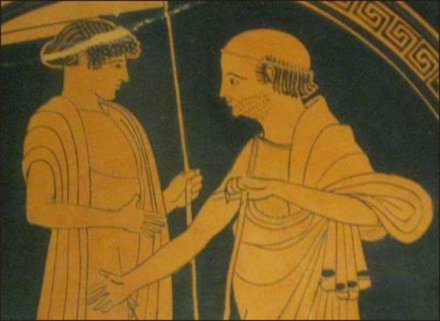 Priam and Achilles
