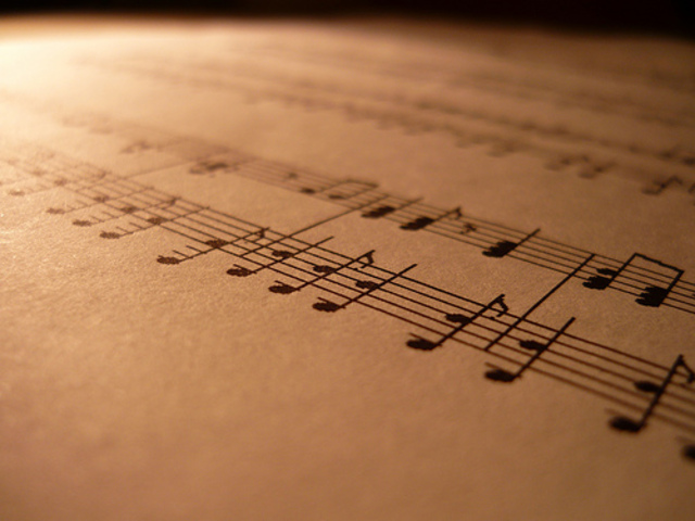 I write my first symphony
