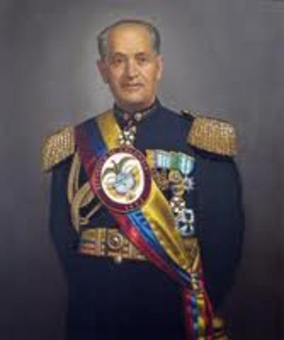 dictadura en colombia