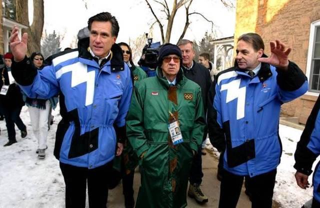Mitt Romney heads Salt Lake Organizng Committee