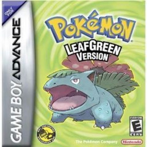 Pokémon LeafGreen and FireRed Versions