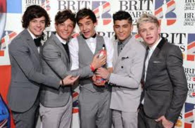One Direction Brit Award