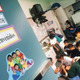 Bilingual education classroom