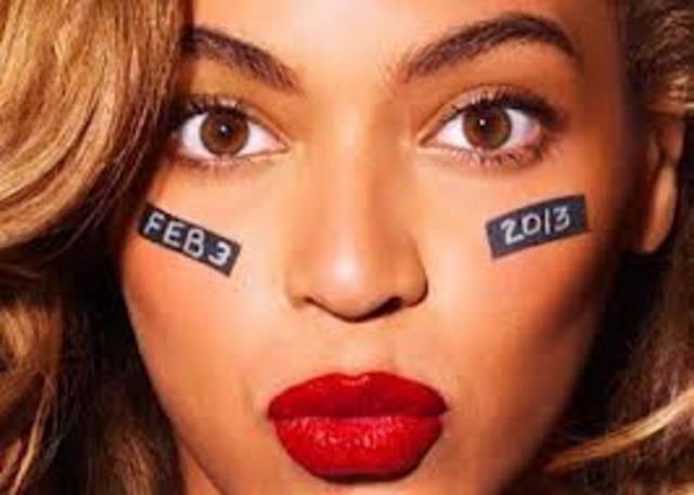 Superbowl 2013 - Beyoncé
