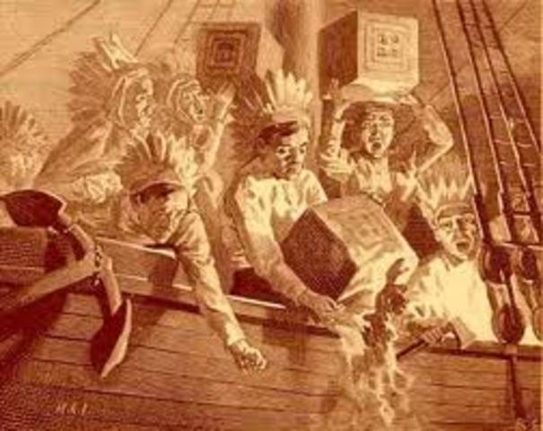 Tea Act/Boston Tea Party