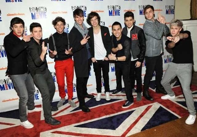 One Direction fue el telonero de Big Time Rush en su gira