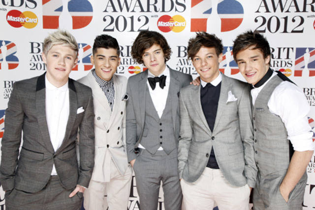 Premios Brit. Se presenta One Direction