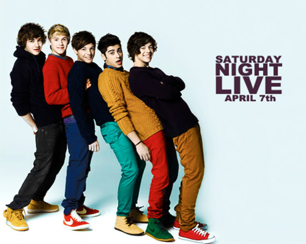 One Direction in sturday night live