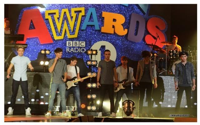 BBC Radio 1 Teen Awards ONE DIRECTION