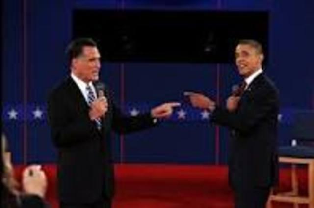 Presidential Debate at Hofstra University in New York