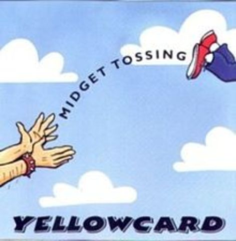 "Yellowcard release first album, ""Midget Tossing"""