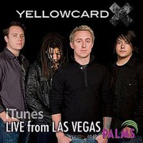 "Yellowcard release ""Live from Las Vegas at the Palms"""
