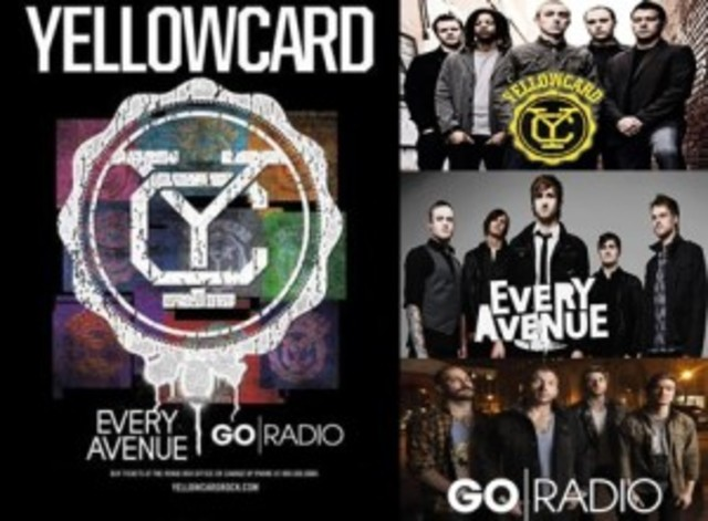 Yellowcard headline tour with Every Avenue