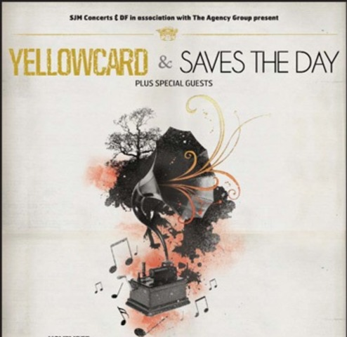 Yellowcard co-headline tour with Saves the Day and The Wonder Years