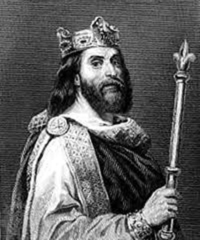 Death of Louis the Pious and the division of the Frankish Empire