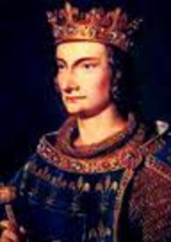 Death of King Philip IV