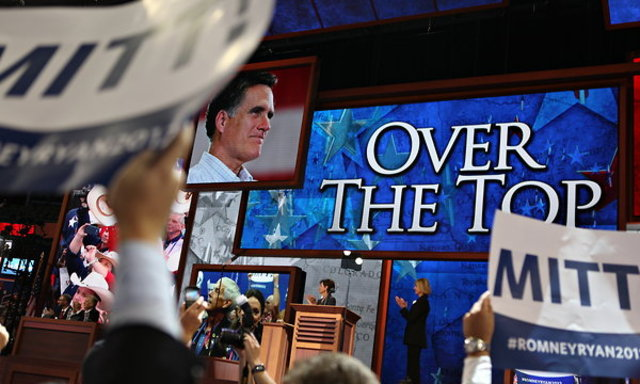 Mitt Romney is nominated for the 2012 Republican Ticket