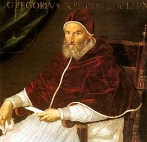 Naixement Papa Gregori I el magne