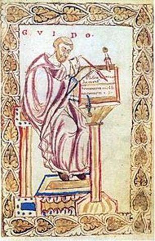 Naixement Guido d'Arezzo