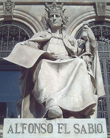 Naixement d'Alfons X el savi.