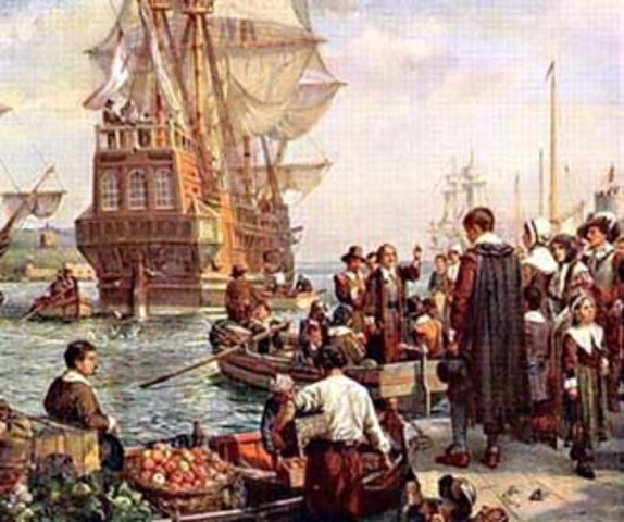 The Pilgrims timeline   Timetoast timelines