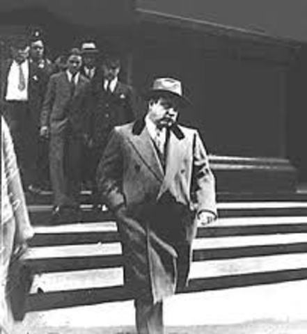 Al Capone Convicted of Federal Tax Evasion
