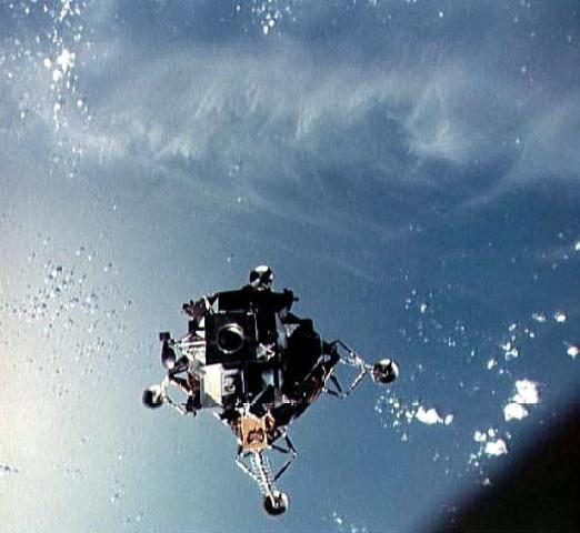 Apollo 9 Test Mission (First Manned Landing Module flight)