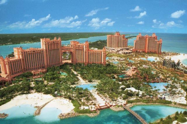 La vacación a las Bahamas