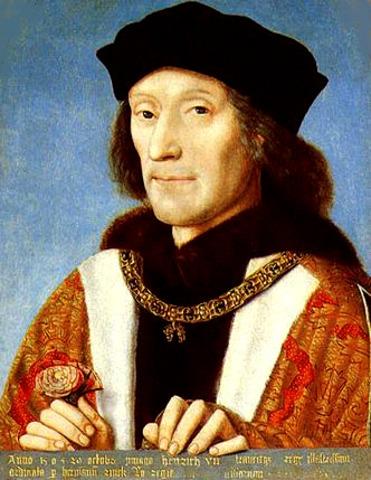 King Henry VII Invades France