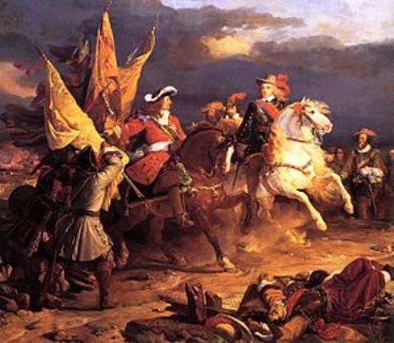 Spain declares war on England