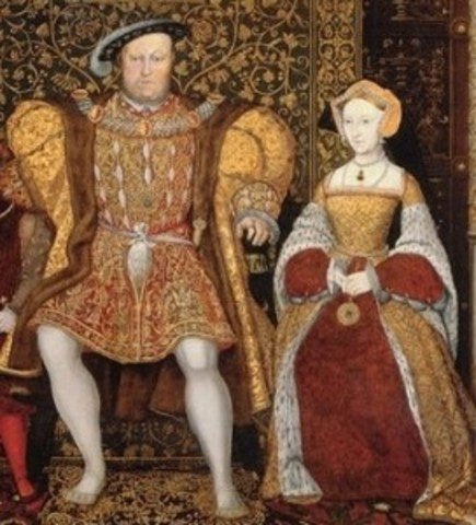 King Henry VII and Anna of Kleef marry