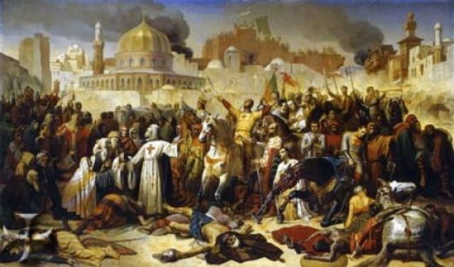 Sultan Kilidj Arslan Defeats First Crusaders