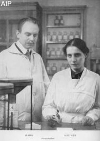Otto Hahn & Lisa Meitner