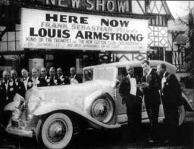 Louis Armstrongs first Broadway Appearence, Intorduction of pop music