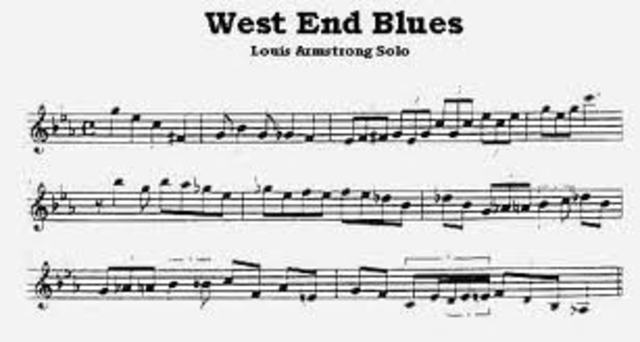 Introduction of Scat singing and West End Blues