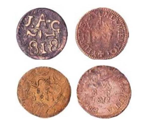 Monedas de Independencia