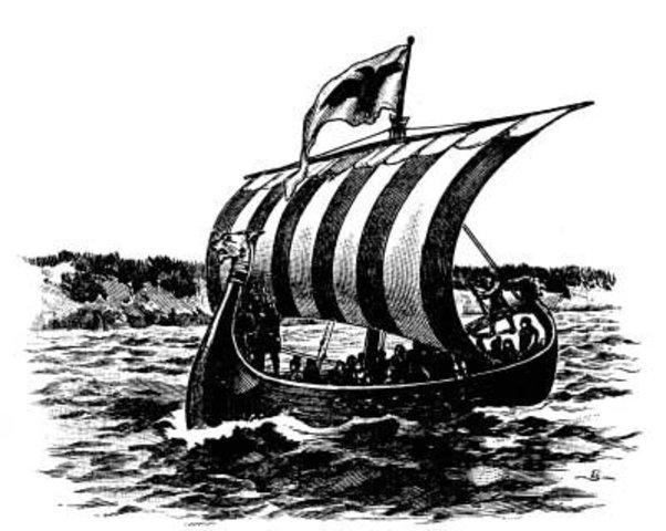 Leif Ericson's ship Reaches FIndland