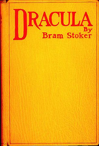"""Bram Stoker writes """"Dracula"""""""