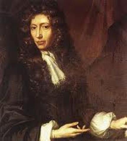 Robert Boyle was born Jan 25, 1627