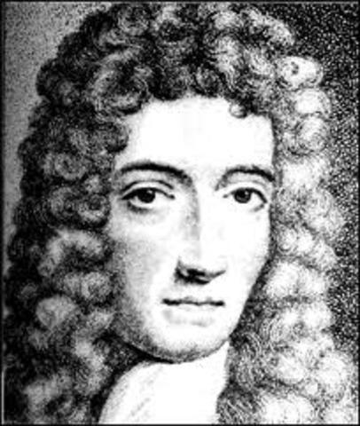 Robert Boyle makes discoveries